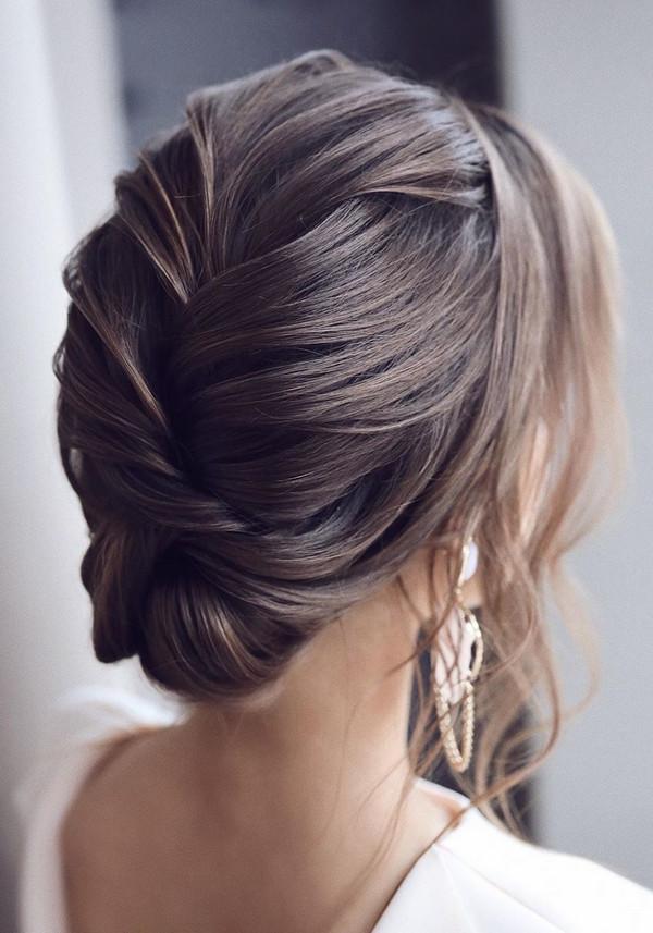 elegant updo wedding hairstyles for 2020 brides 13