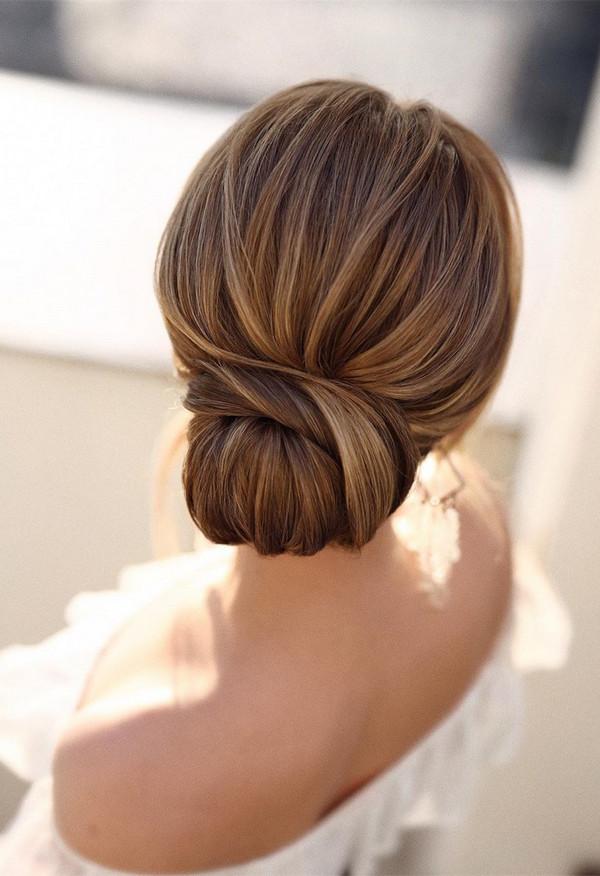 elegant updo wedding hairstyles for 2020 brides 15