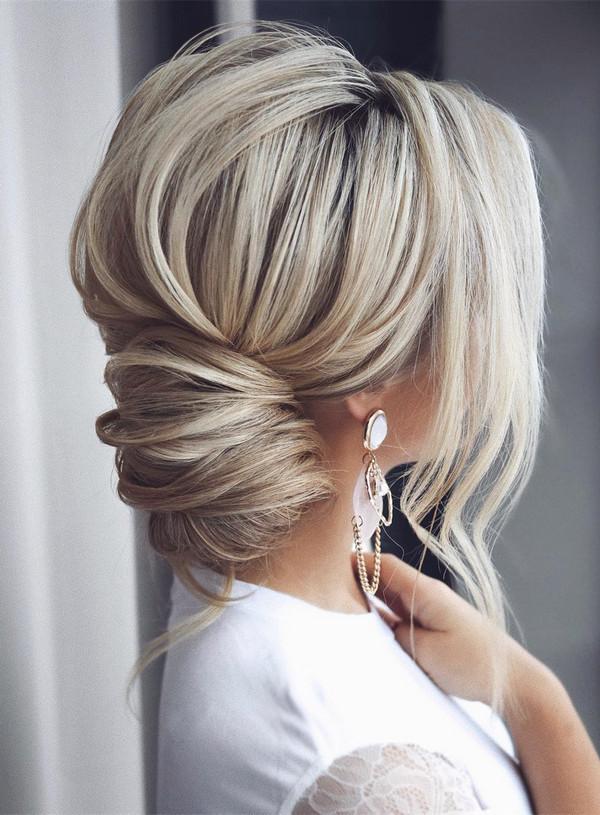 elegant updo wedding hairstyles for 2020 brides 2