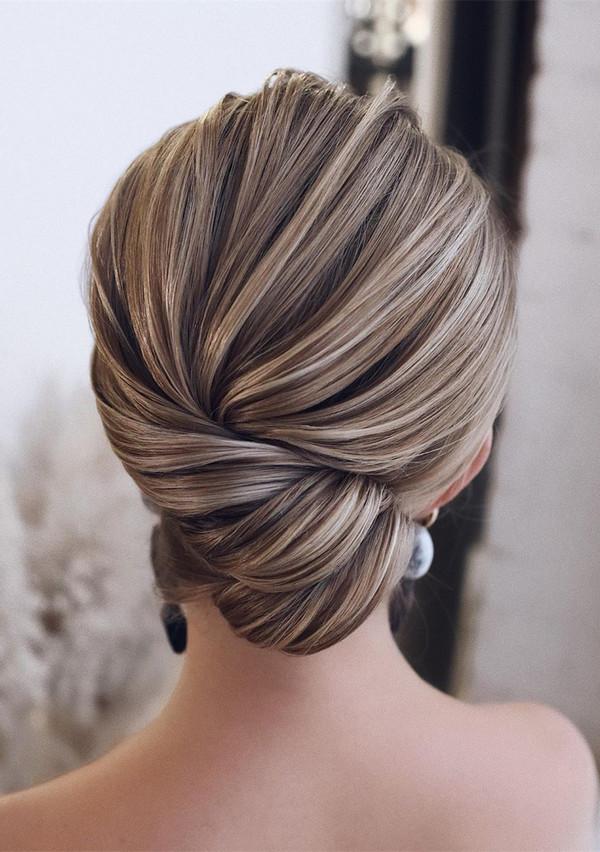 elegant updo wedding hairstyles for 2020 brides 22