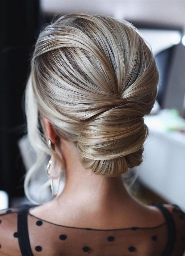 elegant updo wedding hairstyles for 2020 brides 23