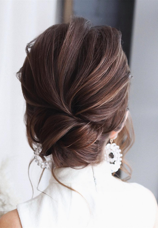 elegant updo wedding hairstyles for 2020 brides 3