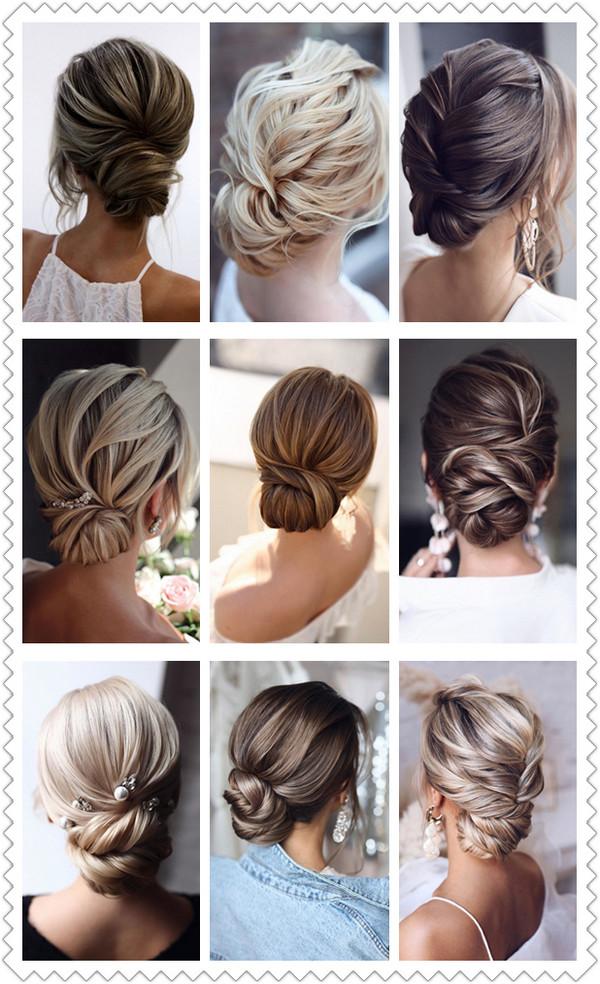 elegant updos wedding hairstyles trending
