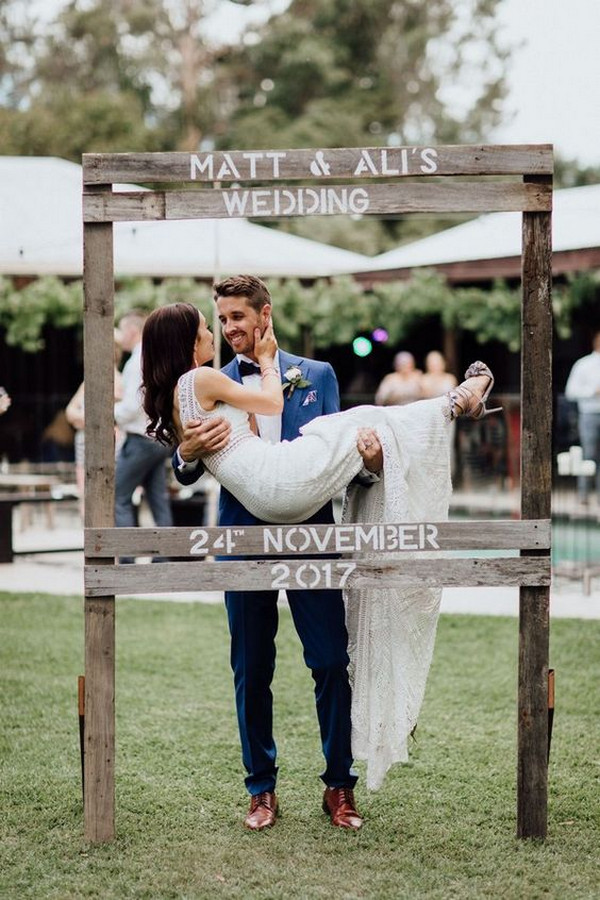 outdoor rustic wedding decor ideas