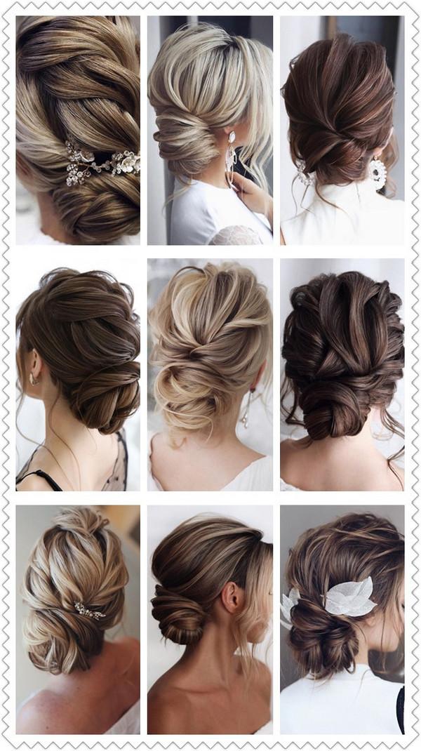 trending elegant updo wedding hairstyles