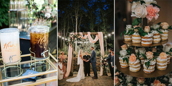 small intimate wedding ideas