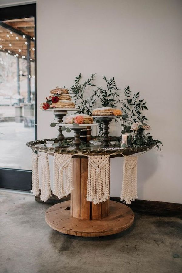 boho chic desert bar decoration ideas