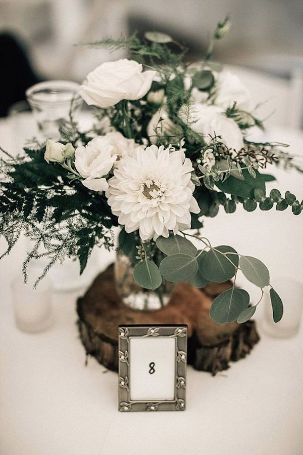 chic boho simple wedding centerpiece ideas