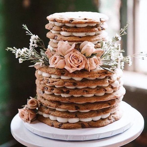 cookies fall wedding cake ideas