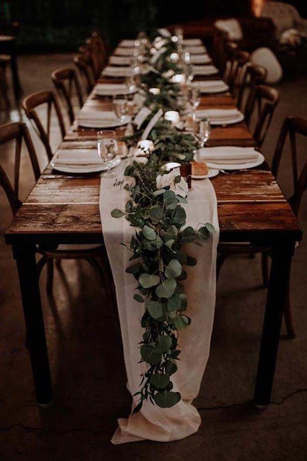 small boho rustic wedding reception ideas
