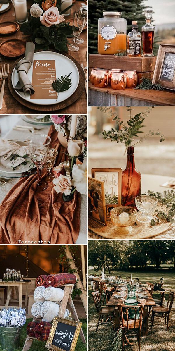 small boho themed wedding ideas