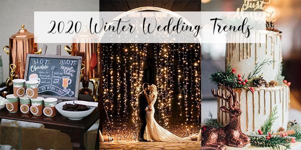 Christmas Wedding 2020 Trends Top 5 Winter Wedding Trends for 2020   EmmaLovesWeddings
