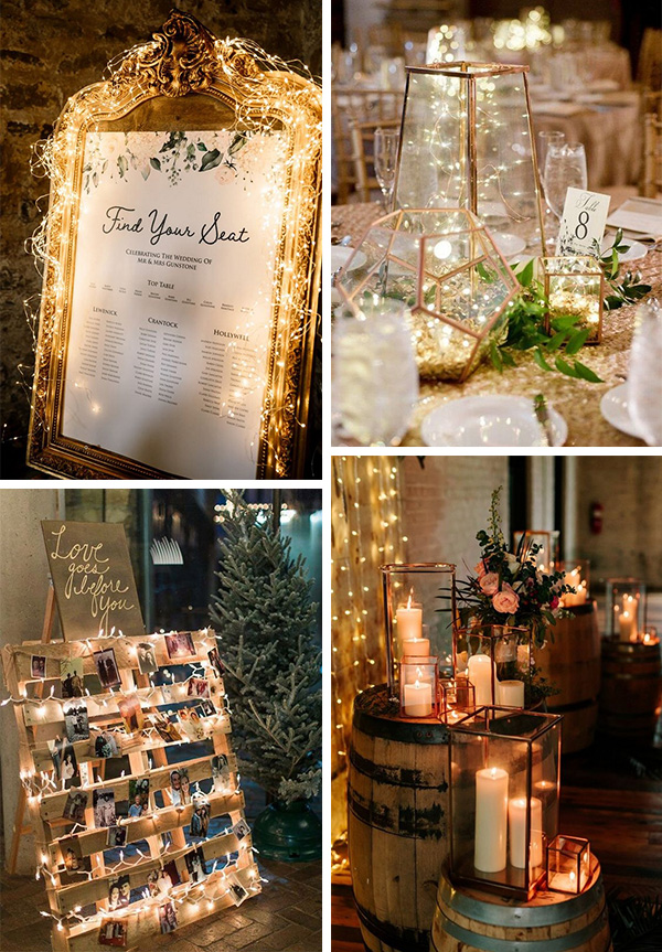 budget friendly winter wedding decoration ideas