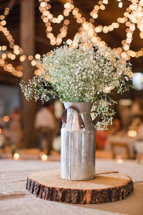 rustic vintage wedding centerpiece ideas