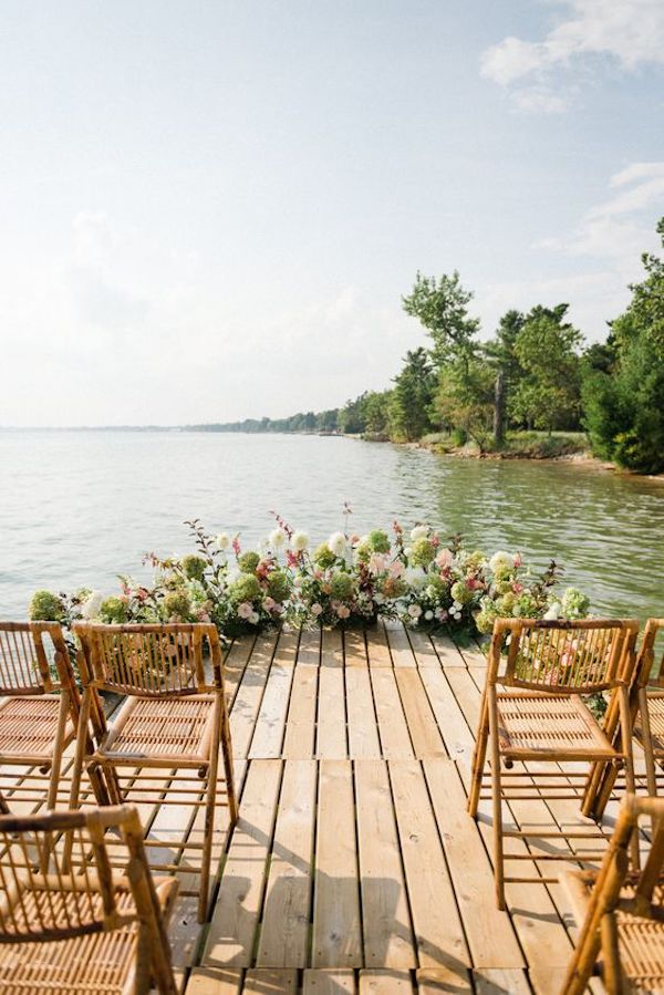 small wedding ceremony venue ideas lakeside