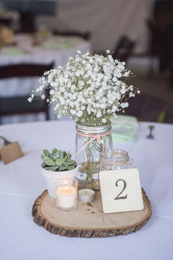 wedding centerpiece ideas on a budget