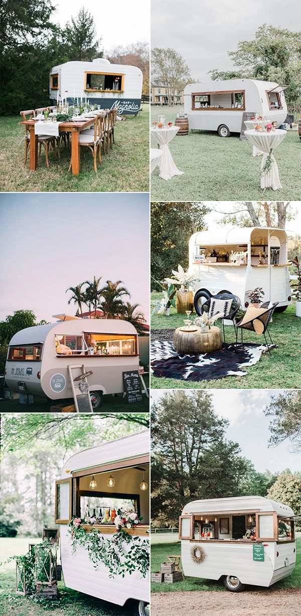 2021 wedding trends mobile food and drink bars