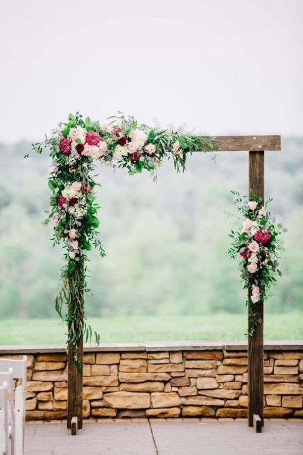 backyard wedding arch decoration ideas on a budget