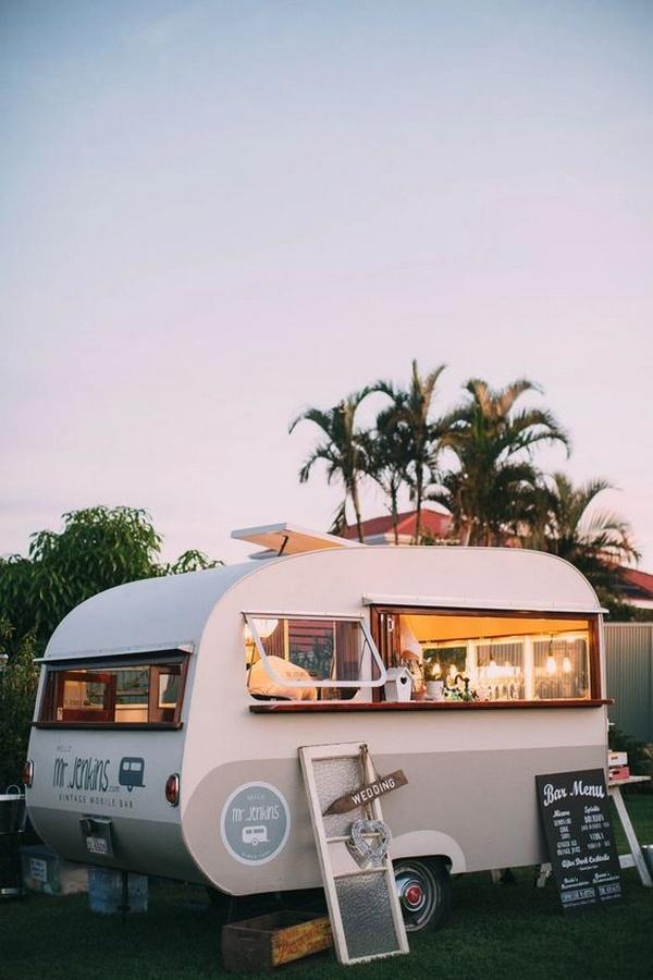 mobile bar beach wedding destination ideas
