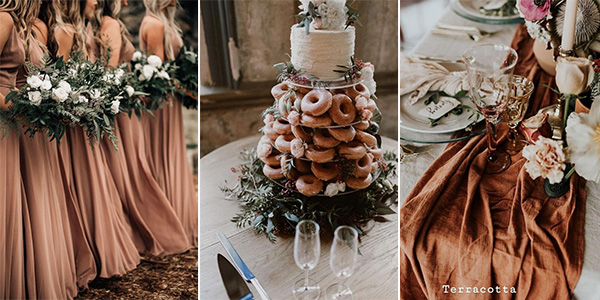 terracotta wedding inspiration