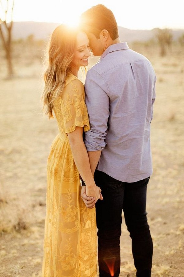 sweet swwet engagement photo ideas