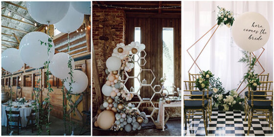 balloon wedding decoration ideas for 2021