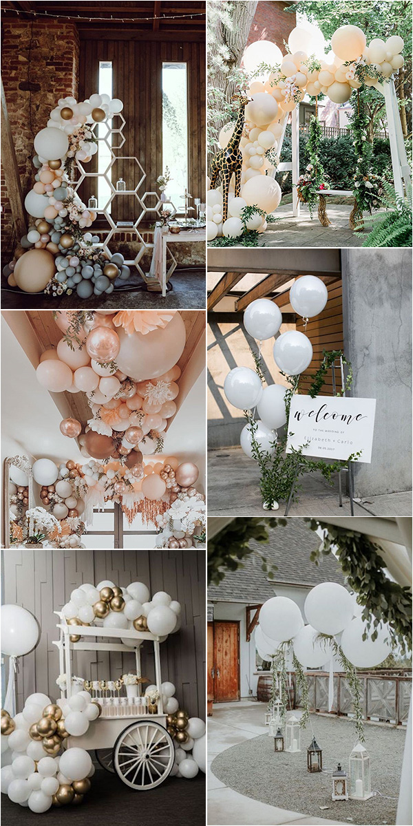 trending balloon wedding decoration ideas for 2021 trends