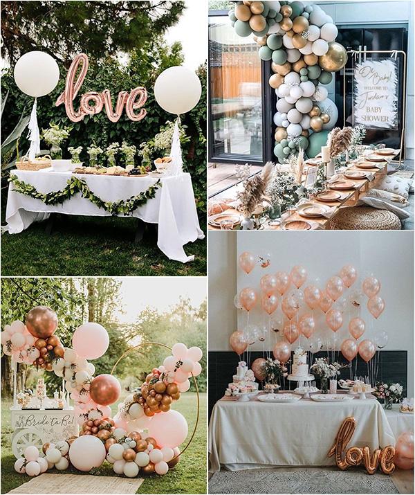 wedding balloon ideas for receptions