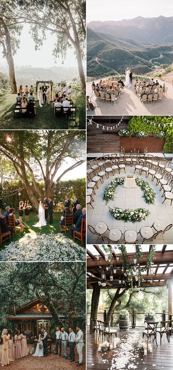 small intimate wedding ceremony ideas